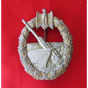 Coastal Artillery Badge # 5046