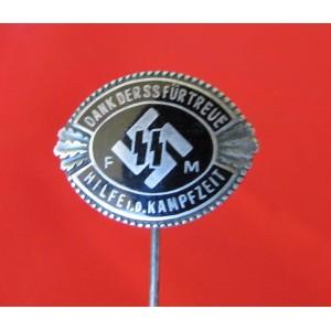 Silver SS-FM Honor stickpin # 5054
