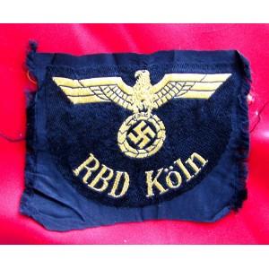 RBD Köln Reichsbahn Eagle # 5080