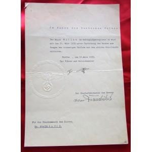 Hitler Document # 5089