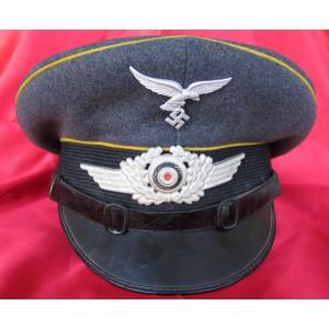 Luftwaffe Flight Crew NCO/EM Visor # 5093