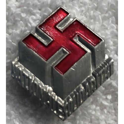 Nationale Solidarität Badge # 5185