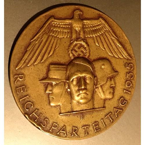 Reichsparteitag 1935 Medal # 3718