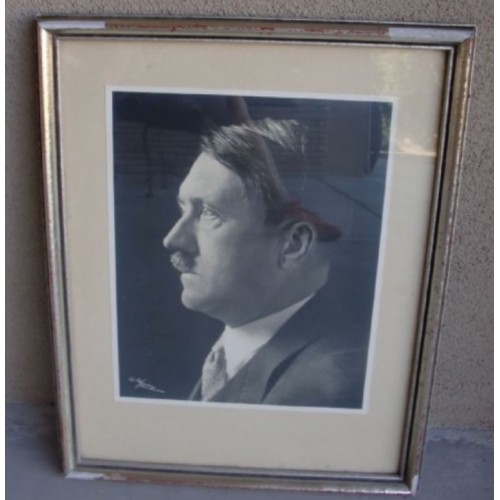 Hitler Framed Portrait