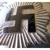 Reichsluftschutzbund Standard Bearer Gorget # 3908