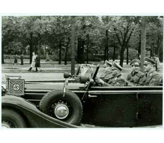 Image result for ww2 German vehicle with metal identification pennant
