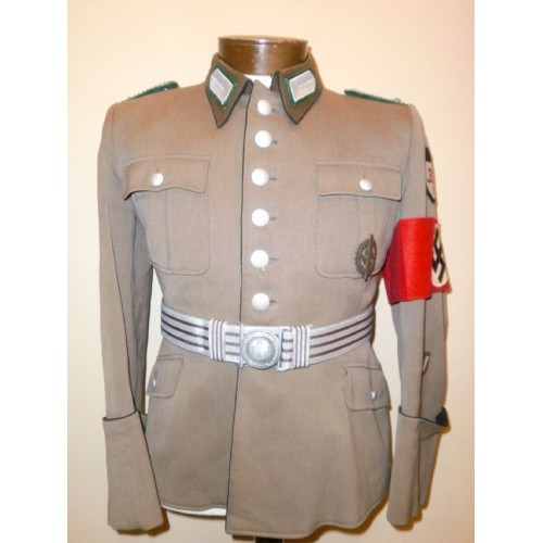 RAD Officers Tunic with Brocade Belt # 1079