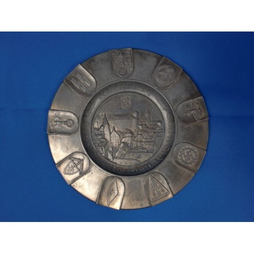 Nuremberg Party Plate  # 1094