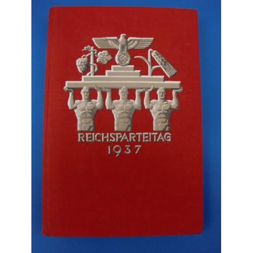 Reichsparteitag 1937 Book # 1111