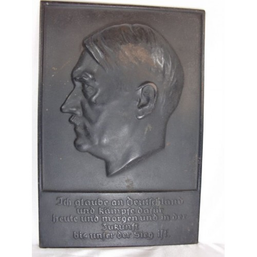 Adolf Hitler Plaque  # 1176