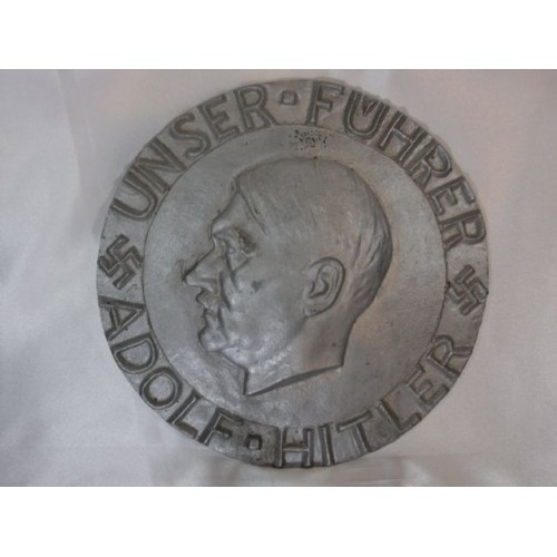 Adolf Hitler Plaque # 1177