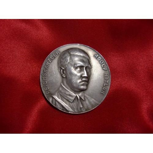 Hitler Medallion  # 1188