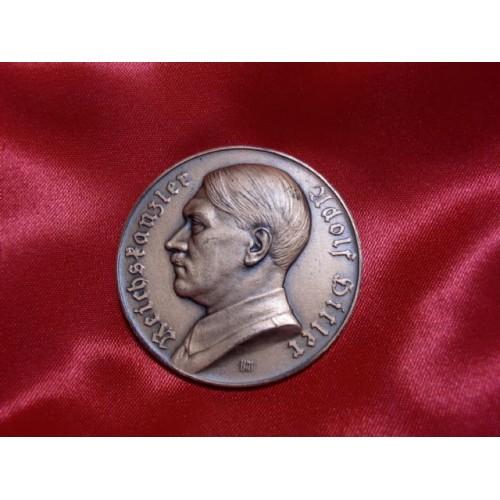 Hitler Medallion  # 1189