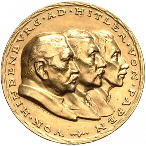 Karl Goetz Medal in Gold # 1200