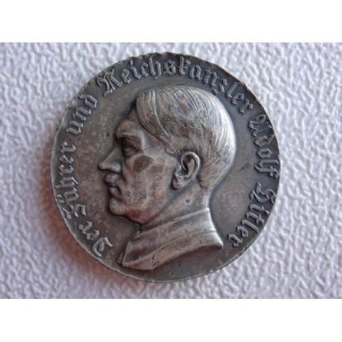 Hitler Medallion  # 1222