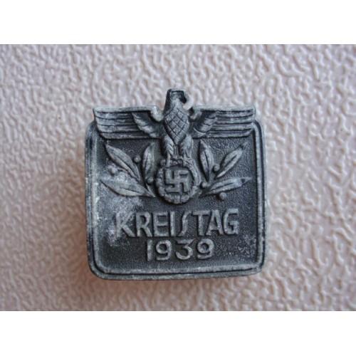 Kreistag 1939 Badge # 1265