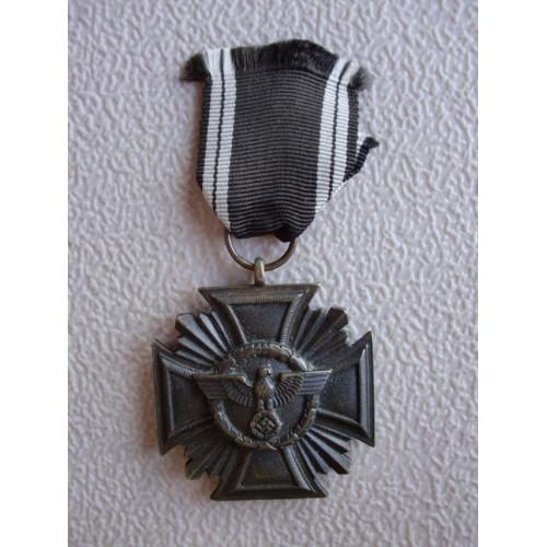 NSDAP 10 Year Long Service Medal  # 1267