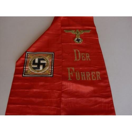 Der Führer Funeral Sash  # 1296