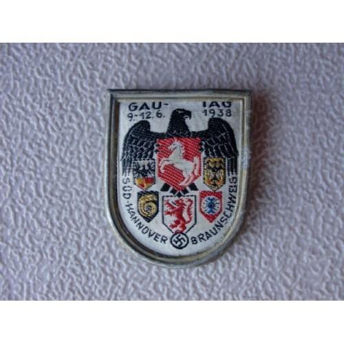 SÜD-HANNOVER-BRAUNSCHWEIG Gau Day Badge # 1301