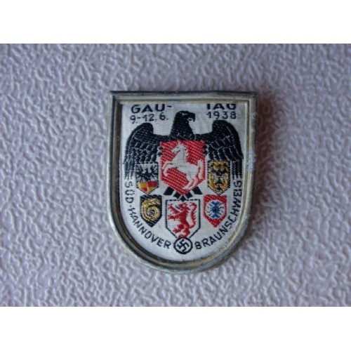 SäD-HANNOVER-BRAUNSCHWEIG Gau Day Badge # 1301