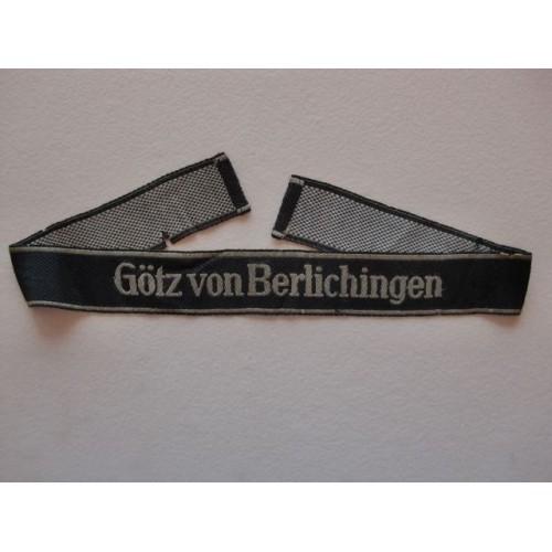 Götz von Berlichingen Cuff Title # 1311