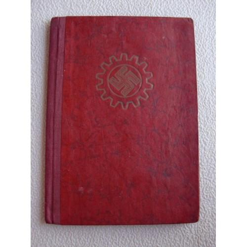 DAF Membership Book # 1363