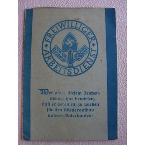 FAD Membership Booklet # 1370