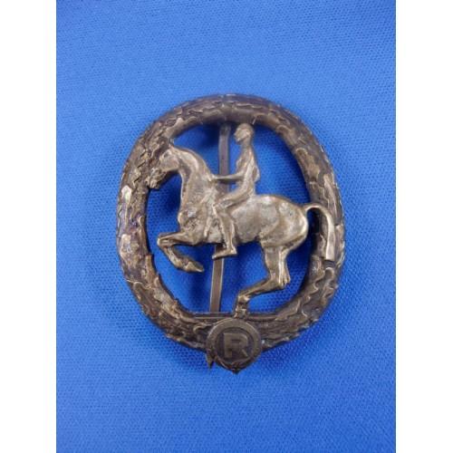 German Rider's Badge # 1390