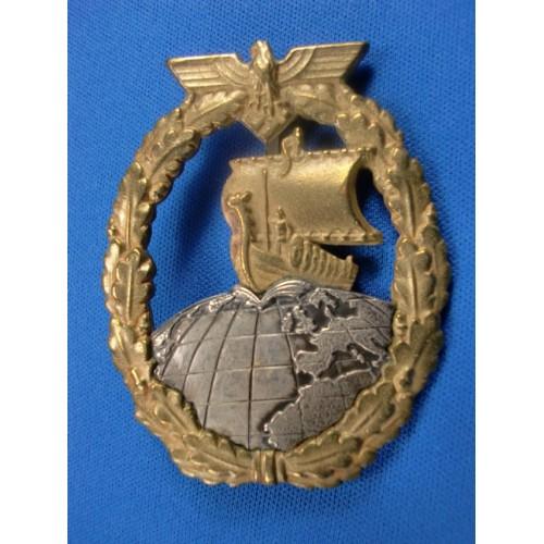 Auxiliary Cruiser's Badge # 1391