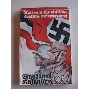 NSDAP Standarten Kalender 1936 # 1395