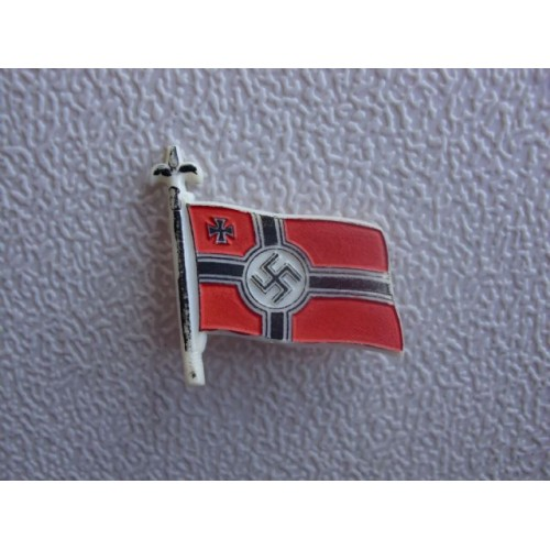 WHW War Relief Flag Badge # 1507