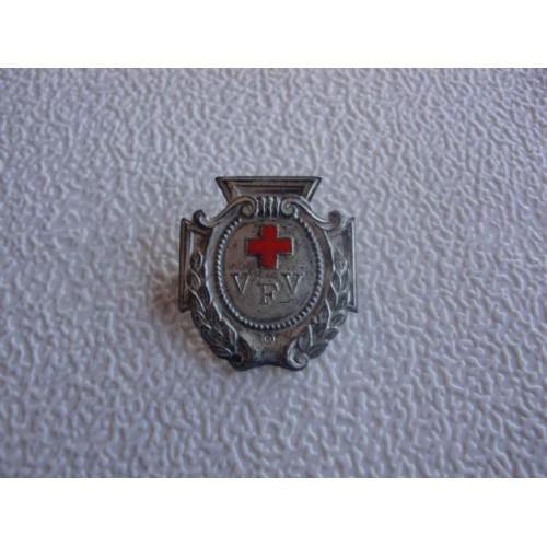 Red Cross VFV Badge. # 1510