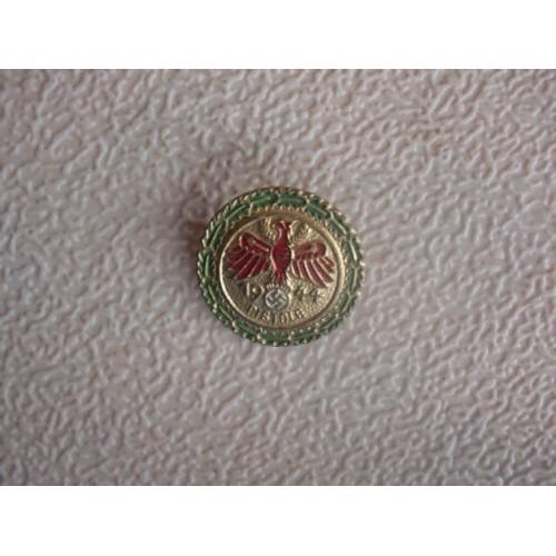 Tirolian Shooting Badge # 1543