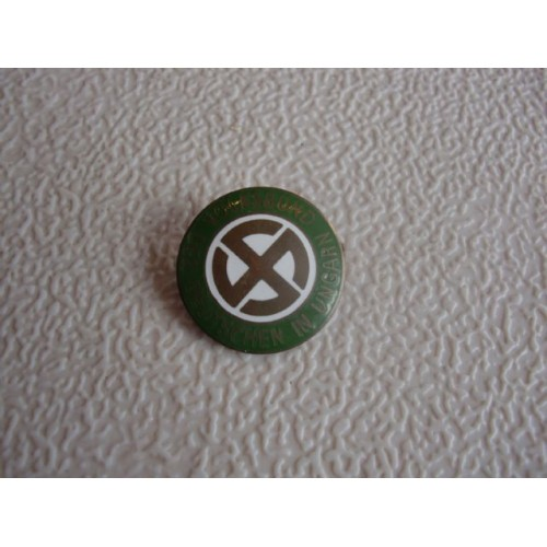 Hungarian Nazi Party Pin # 1549