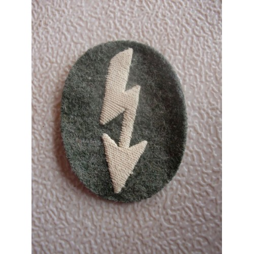 Signals Cloth Badge  # 1553