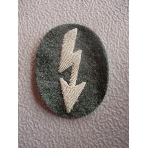 Signals Cloth Badge  # 1553