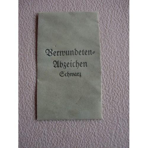 Black Wound Badge Envelope # 1557