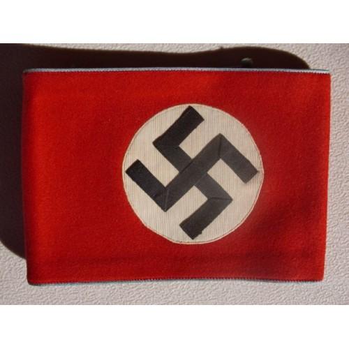 Ortsgruppe Politisches Leiter Anwärter armband  # 1566
