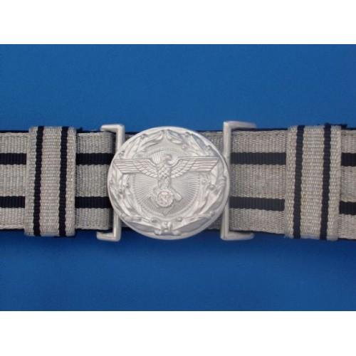 TENO Brocade Belt & Buckle # 1569