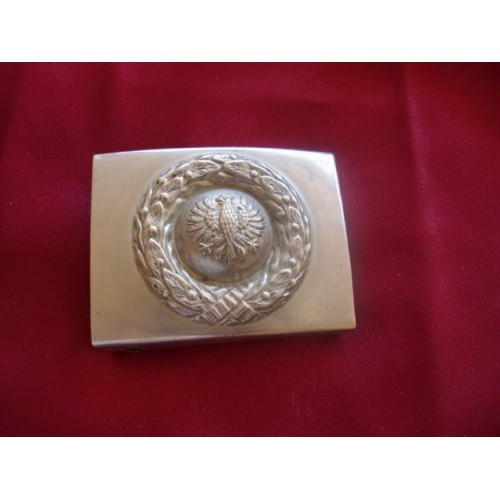 Prussian Police Buckle # 1641