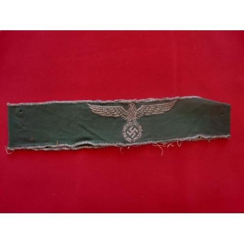 Land Customs Cuff Title # 1669