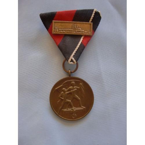 Sudetenland Medal # 1682