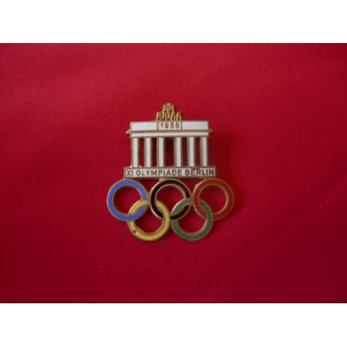 1936 Olympic Pin # 1701