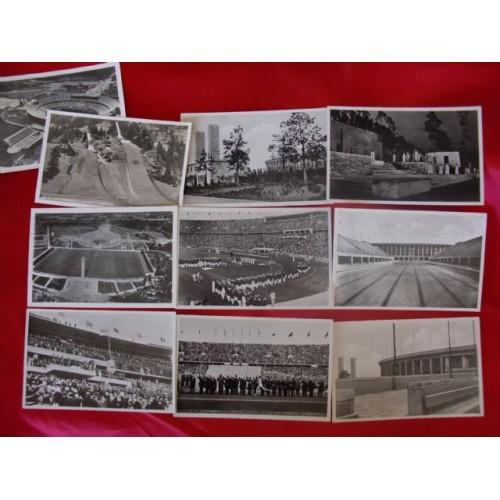 Olympic Postcards # 1707