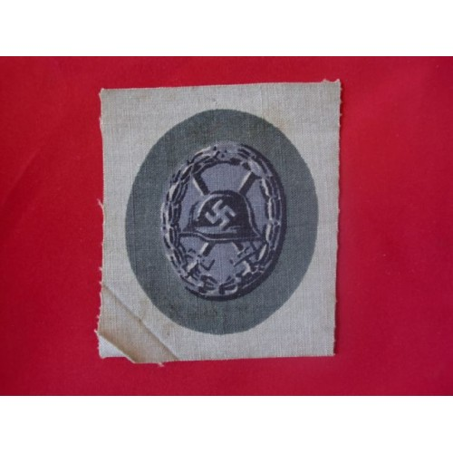 Black Wound Badge; Cloth # 1711