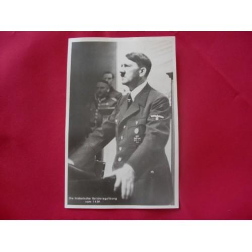 Adolf Hitler Postcard # 1718
