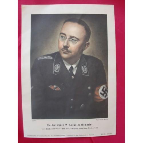 Himmler Color Print # 1723