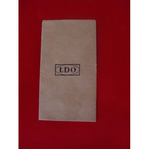 LDO Award Envelope # 1801