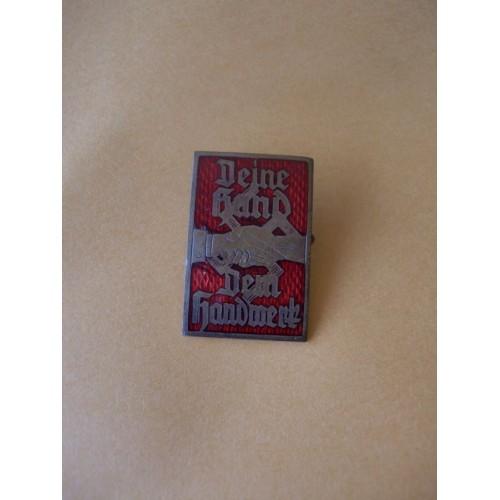 Deine Hand dem Handwerk Pin # 1834