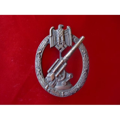 Army Flak Artillery Badge # 1871